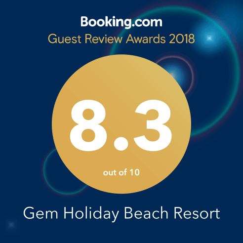 booking.com review for Gem Holiday Beach Resort